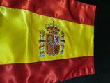 Bandera sobremesa España bordado maquina o bordado mano