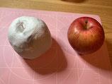 3Dぬり絵 りんご