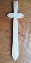 OWO - Epée de bois massif - petit modèle