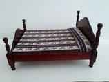 Mahogany Victorian Double Bed
