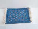 Large Blue Patterned Rug