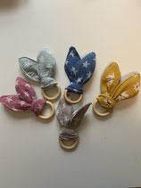 Hasen-Ohren aus Musselinstoff