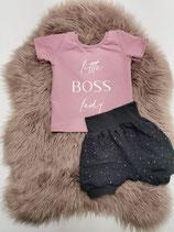 Little Boss Lady Set - T-Shirt + kurze Hose