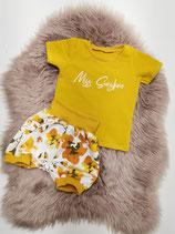Miss Sunshine - T-Shirt + kurze Hose