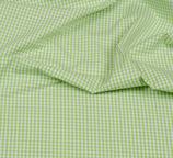 Baumwollstoff Vichy Kao 3mm Grün