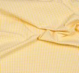 Baumwollstoff Vichy Karo 3mm  Gelb