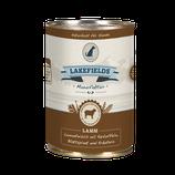 Lakefields Lammfleisch mit Kartoffeln, Blattspinat und Kräutern