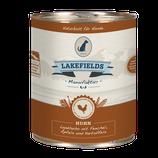 Lakefields Landhuhn mit Fenchel, Äpfel und Karotten