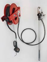 Druckluftölpumpe mit Aufroller