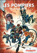 Bande dessinée Les pompiers - Le Risque Cardio Vasculaire