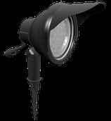 1 Stück LED- Strahler Alu Schwarz
