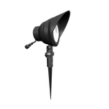 1 Stück LED- Strahler Kunststoff Schwarz
