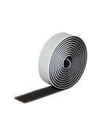 VEL - VELCRON, Kautschuk schwarz, 2 m x 18 mm
