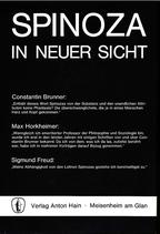 Sonntag, Leo; Stolte, Heinz (Hrsg.): ›Spinoza in neuer Sicht‹ Meisenheim am Glan 1977, 220 S.