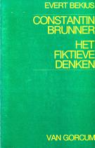 Bekius, Evert: ›Constantin Brunner. Het fiktieve Denken‹ Assen 1984, 194 S.