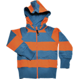 College hoodie blue/orange  - Geggamoja