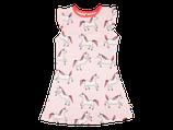 Robe rose imprimée Licorne - Smafolk