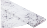 MNM Marmoroptik Ria weiß/grau
