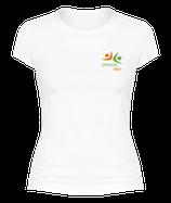 Sport-Shirt für Damen in WEISS
