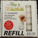 Refill Teelichter Weiss 18Stk. - Nachfüllpackung