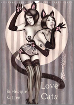 Love cats - Burlesque Katzen