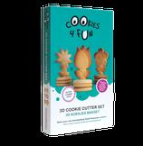 3D koekjes bakset