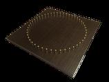 48ピンダークブラウン木目板