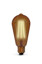 "Calex Filament LED Dimmbare ""Vintage Rustic"" Lampe, 6 Watt, Gold 2'100 Kelvin,  E27"