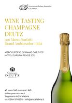 Wine Tasting - Champagne DEUTZ
