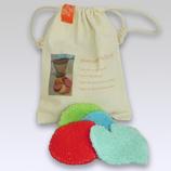SCHOON&ZEEP, 9 wasbare gezichtreinigingpads in cadeauverpakking