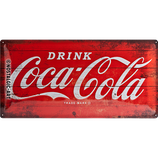 Coca-Cola - Logo Red 50x25cm  /  27005