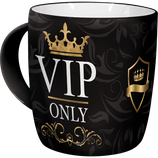 VIP ONLY Tasse  8,5x9cm, 340ml