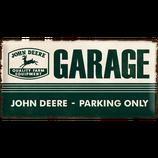 John Deere Garage - Parking Only  50x25cm  /  27013