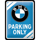 BMW Parking Only  15x20cm  /  26177
