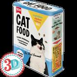CAT FOOD - Vegetables  Vorratsdose XL / 4L / 30320