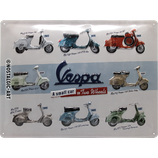Vespa 30x40cm