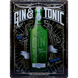Gin & Tonic Green Edition    30x40cm