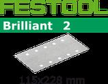 STF-Streifen Korn080, Brilliant2,115x228 mm