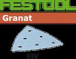 STF-Schleifblätter Korn080, 93V Granat