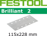 STF-Streifen Korn100-400, Brilliant2,115x228 mm