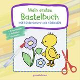 Mein erstes Bastelbuch mit Kinderschere und Klebestift