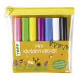 MINI-KREIDEMARKER SET IN HELLEN FARBEN