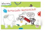 Krickel-Krakel 8 bemalbare Wandsticker