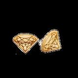 """Diamant"" Ohrstecker Classic Holz"
