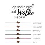 """""""Wolke"""" Glücksknoten Armband Holz Nuss"""