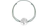 Armband mit Lebensbaum-Anhänger (versilbert)