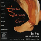 Exotic Dances from the Opera Eiji Oue/ Minnesota Orchestra RR-71CD