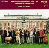 Beethoven Symphonies Nos 1 & 2 Opus 3 CD 19504
