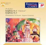 Prokofiew: Symphonien Nr. 1 & Nr. 5 Eugene Ormandy Sony SBK 53260