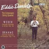 Weber/ Brahms Clarinet Quintets Eddie Daniels RR-40CD